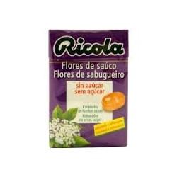 Ricola caramelos sabor flores de sauco 50 g