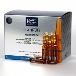 Martiderm Night Renew Platinum 30 ampollas