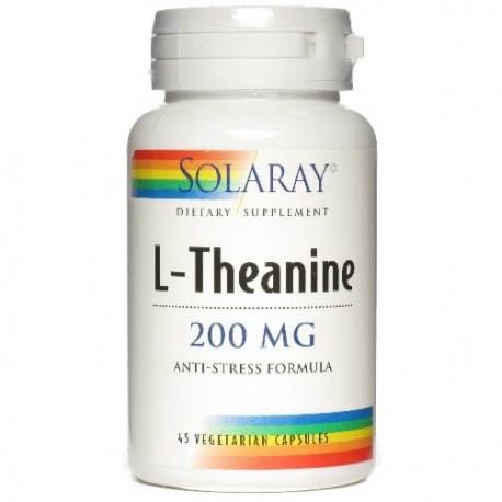 Solaray L-Theanine 200mg 45caps
