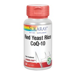 Solaray Red Yeast Rice Co Q-10