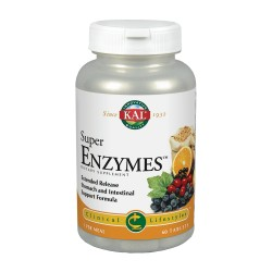 Kal Super Enzymes 60 tabletas
