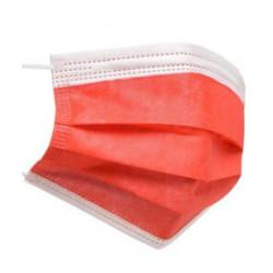 Mascarillas higiénicas rojas (10 unidades)