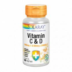 Solaray Vitamina C+D