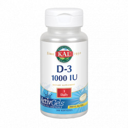Vitamina D3 cápsulas
