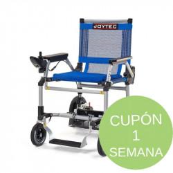 Alquiler silla de ruedas eléctrica mes.